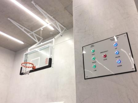 Automatic basketball system