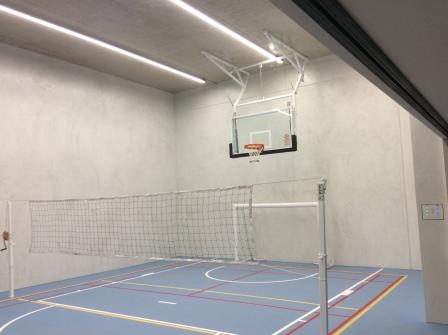 home sports room