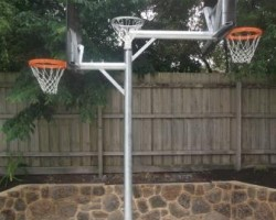 Three way tower Netball/ Basketball