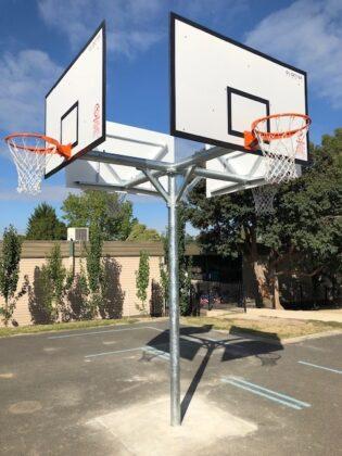 4-way Basketball Tower