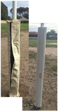 afl goal post padding