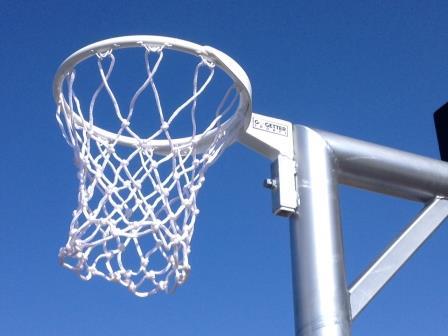 Netball/Basketball combination tower
