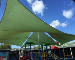Large shade sails