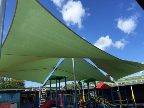 Large shade sails