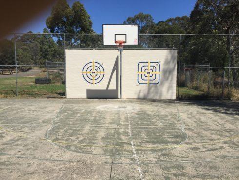 Ball wall targets