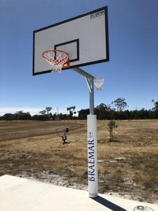 Reversible Basketball/Netball Tower