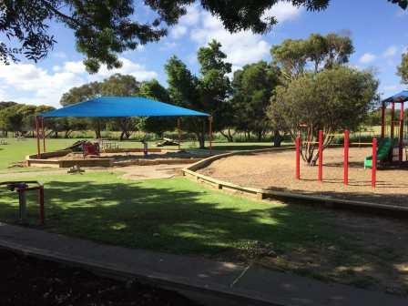 Timber Playground Border