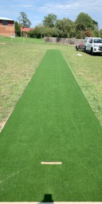 Synthetic Cricket Pitch