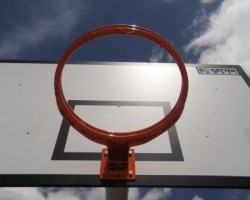 Basketballl ring