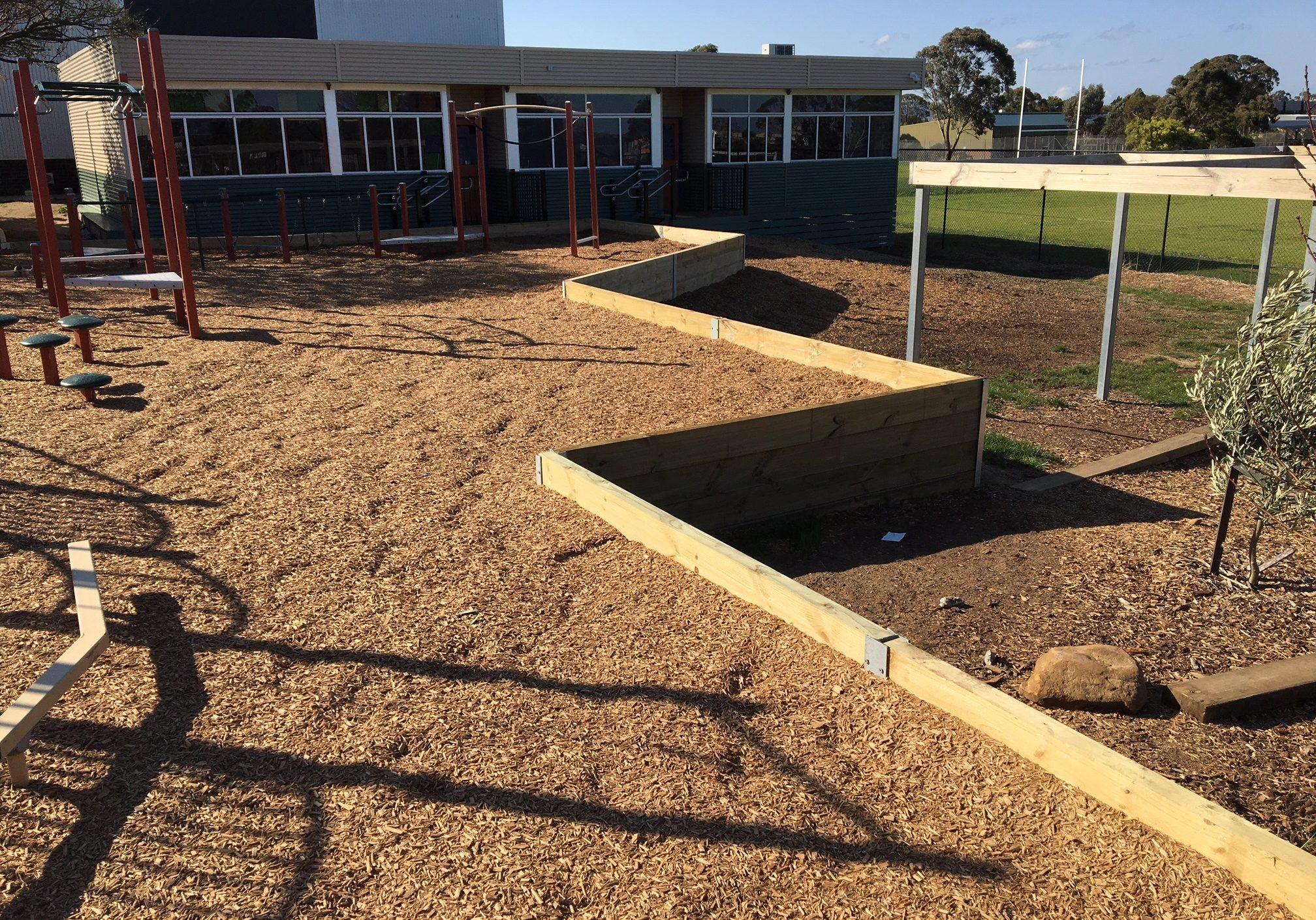 Playground borders
