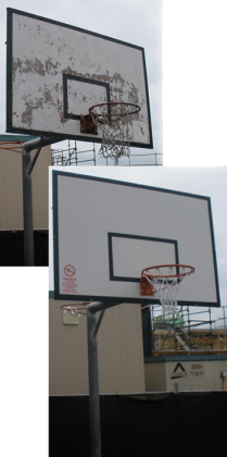 Replace your old backboard with new