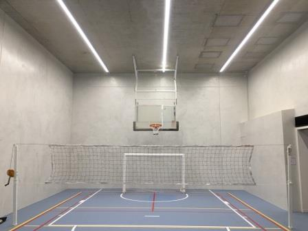 Residential sports room