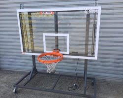 automatic basketball rings