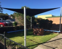 shade sail system
