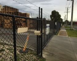 New fences in Melbourne south east